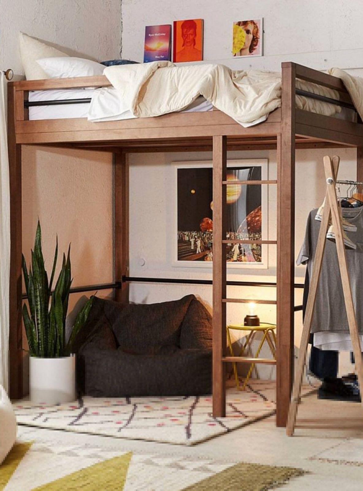 Erwachsene Hochbett Mit Schreibtisch  Bett  Hochbett Mit von Ikea Hochbett Für Erwachsene Bild