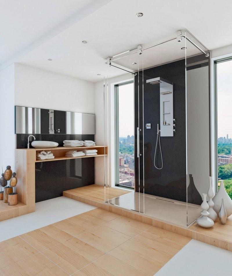 Es Müssen Nicht Immer Fliesen Sein +++ Bad Und Küche Moderner Look von Wandverkleidung Bad Ohne Fliesen Bild
