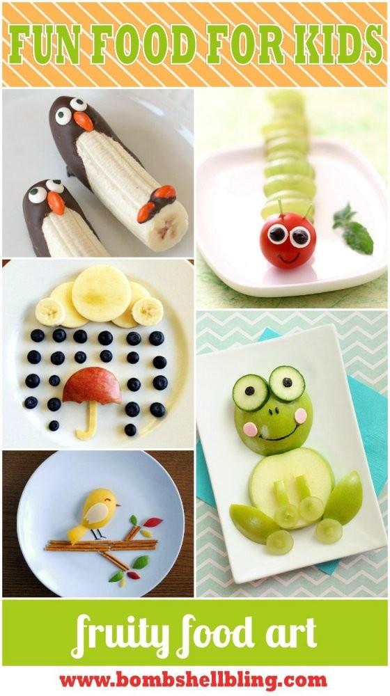 Essen Anrichten Bilder Aus Obst Servieren Party Feier Gäste von Obst Deko Für Kindergeburtstag Bild
