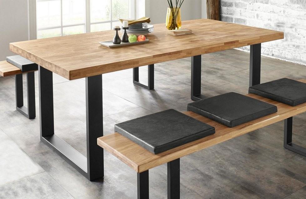 Esstisch Küchentisch Tisch Eiche Massiv 200Cm (14372)  Tische Und von Küche Tisch Und Stühle Photo