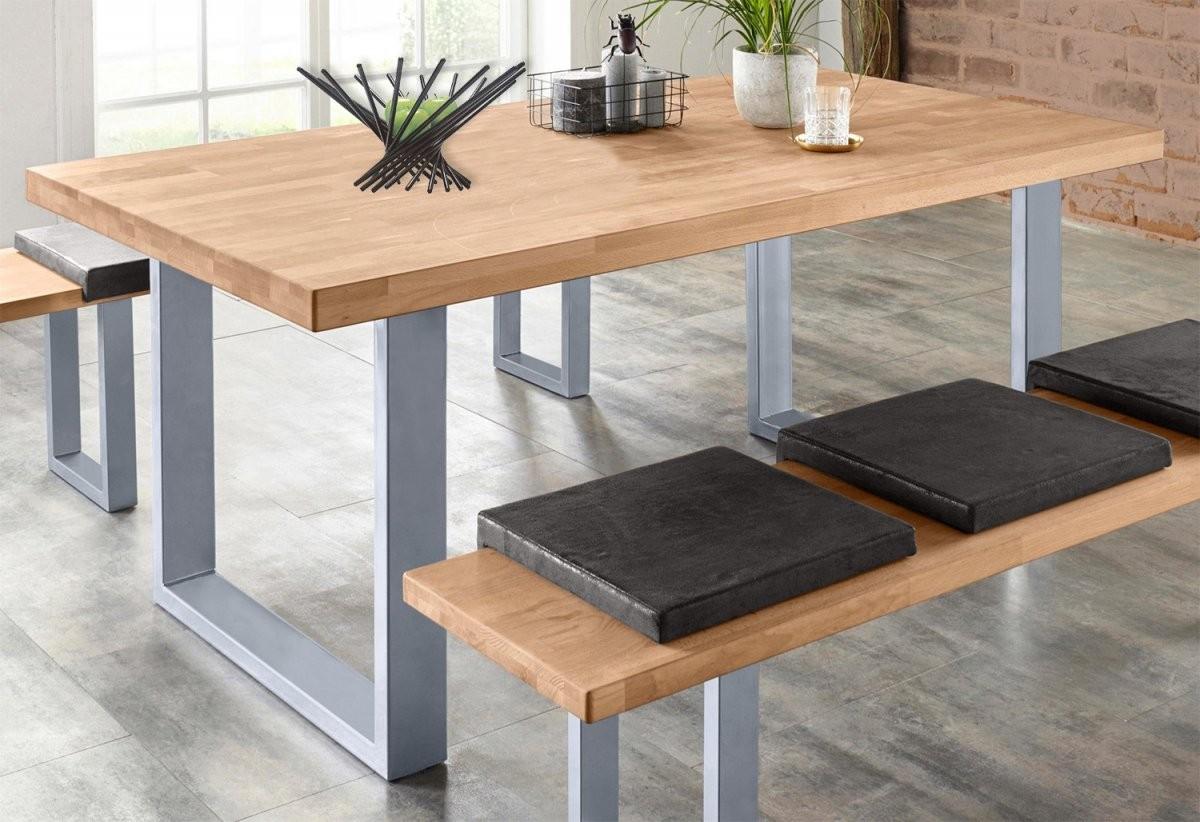 Esstisch Küchentisch Tisch Kernbuche Teilmassiv 180Cm (14118 von Küche Tisch Und Stühle Bild