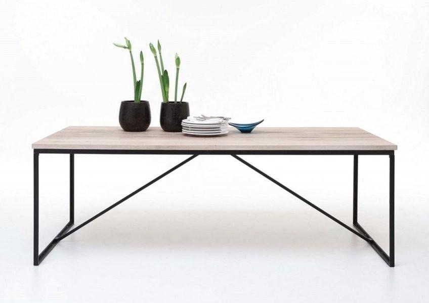 Esstisch Mit Metallgestell Esstisch Nalca In Cremefarben Luxus Von von Tisch Mit Metallgestell Und Holzplatte Photo