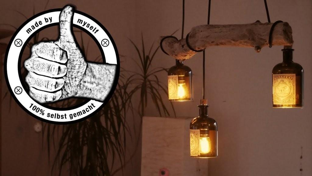 Esstischlampe Lampe Selber Bauen Machen Anleitung Diy von Glühbirne Lampe Selber Machen Photo