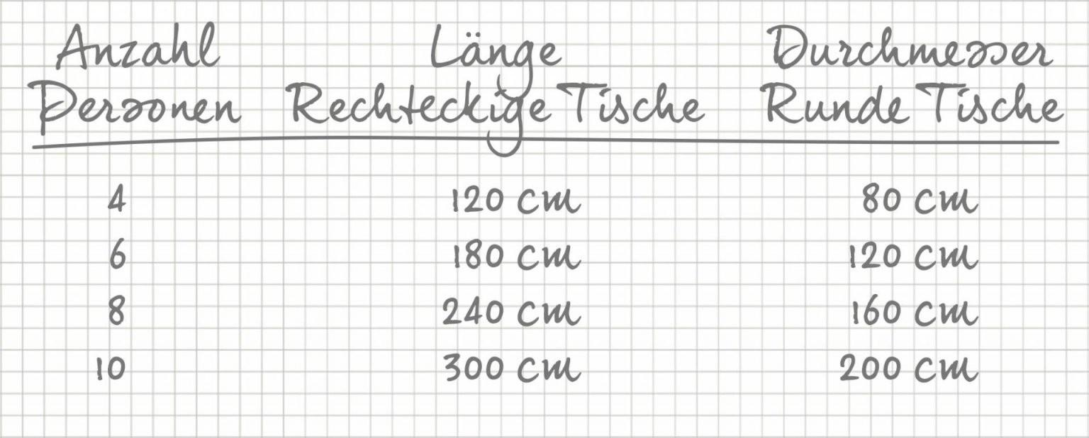 Esszimmertisch Die Richtige Tischgröße Ermitteln  Reuter Magazin von Quadratischer Esstisch Für 8 Personen Bild