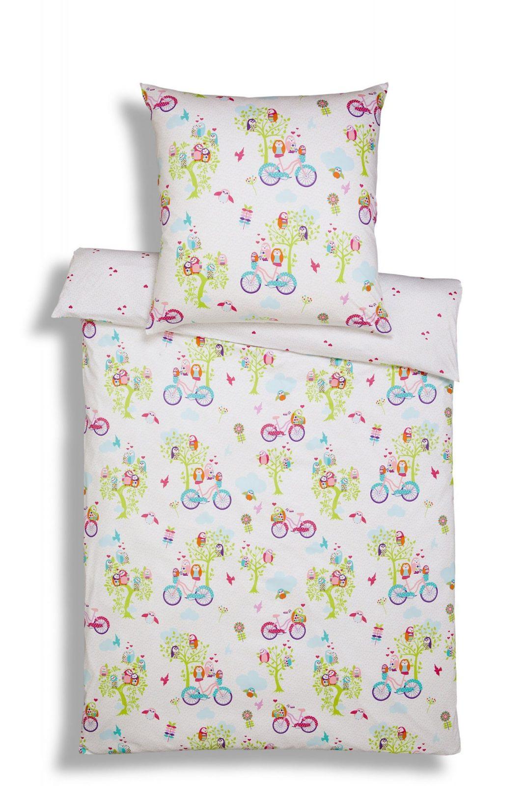 Estella Interlock Mako Jersey Kinder Bettwäsche Ida In Multicolor von Biber Bettwäsche Kindermotiv 135X200 Photo