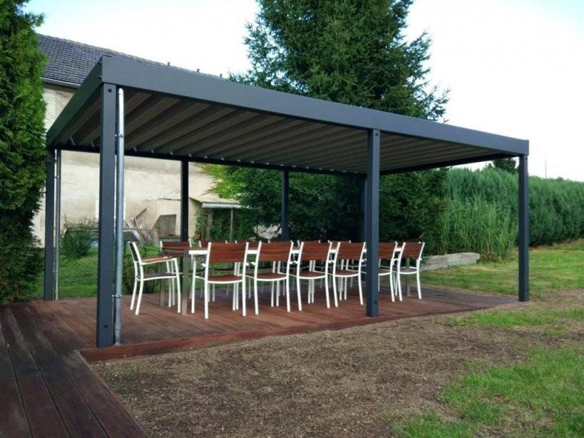 Exquisit Pavillon Wasserdicht 3X3M Metall Festes Dach Cabane von Metall Pavillon Mit Festem Dach Bild