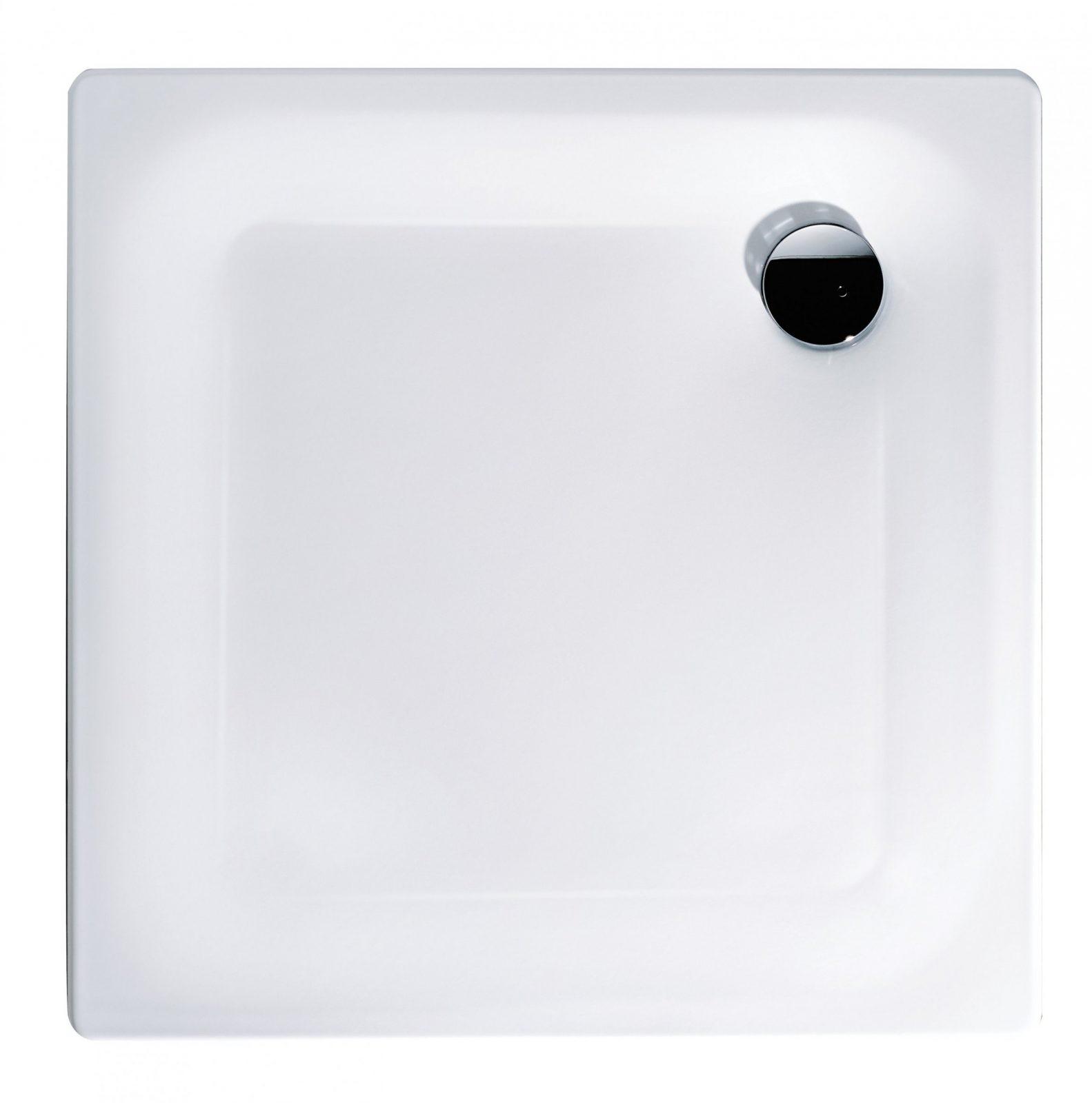 Extra Flache Brausewanne Föhr In Weiß  Calmwaters von Duschwanne 80 X 100 Stahl Bild