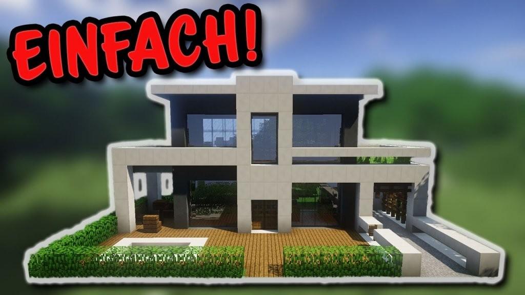 🍹 Minecraft Kleine Villa Bauen  So Baut Ihr Eine Kleine Villa Mit von Minecraft Haus Bauen Plan Photo