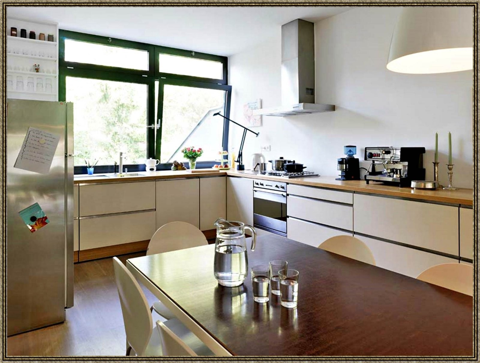 Fabelhaft Kleine Küche Ohne Oberschränke Ideen 1011 von Beleuchtung Küche Ohne Oberschränke Photo