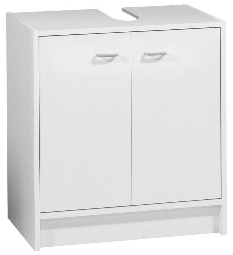 Fackelmann Standard Waschbecken Unterschrank 50 Cm Weiss  Baudi von Waschbecken Mit Unterschrank 50 Cm Bild