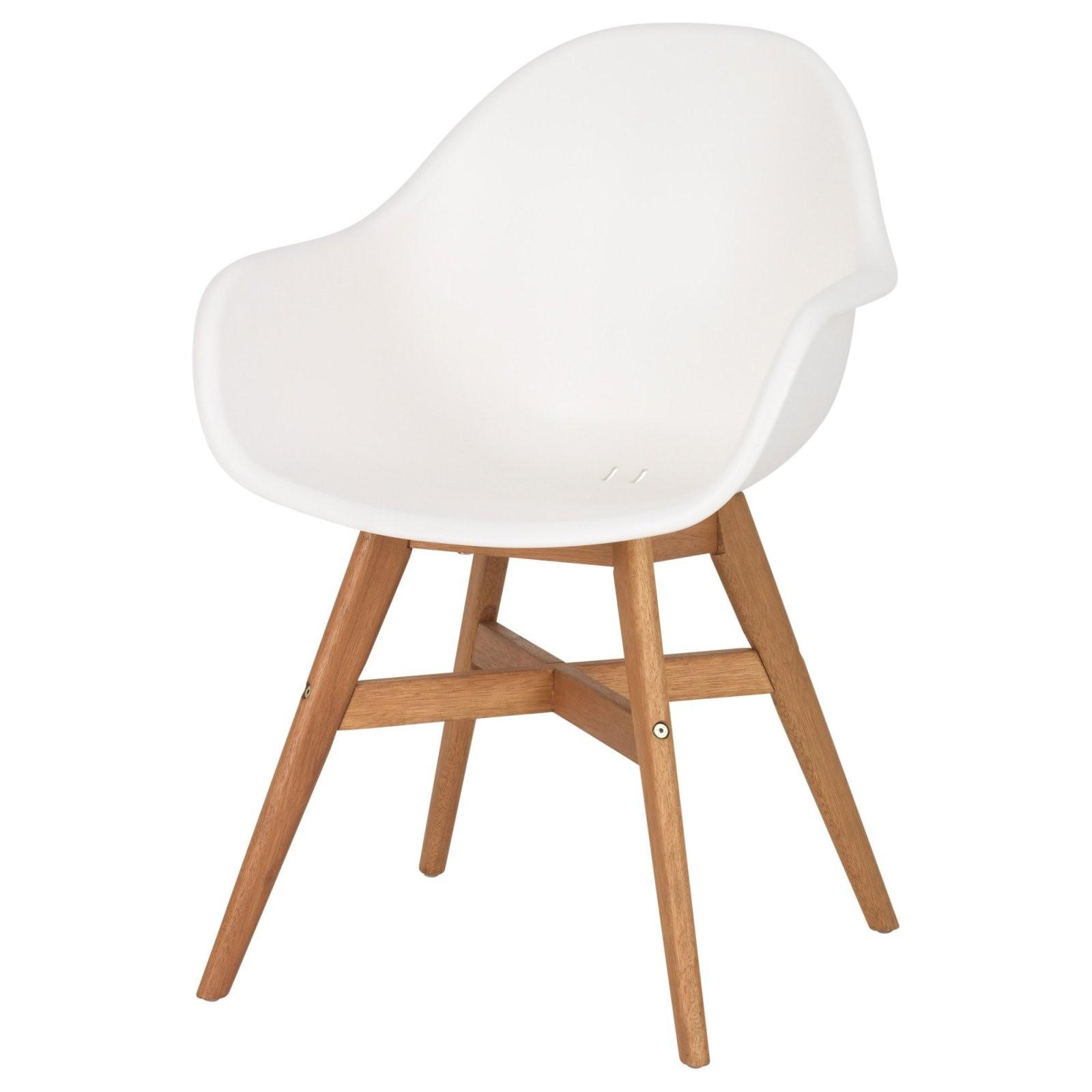 Fanbyn Armlehnstuhl  Weiß  Ikea von Ikea Stühle Mit Armlehne Bild