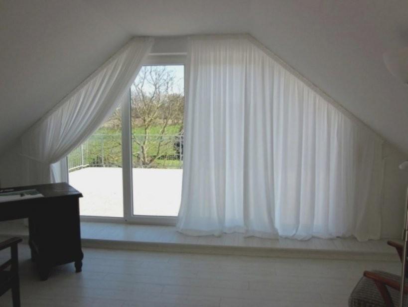 Fancy Inspiration Ideas Vorhang Schräge Hausdesign Interessant von Gardinen Ideen Für Schräge Fenster Photo