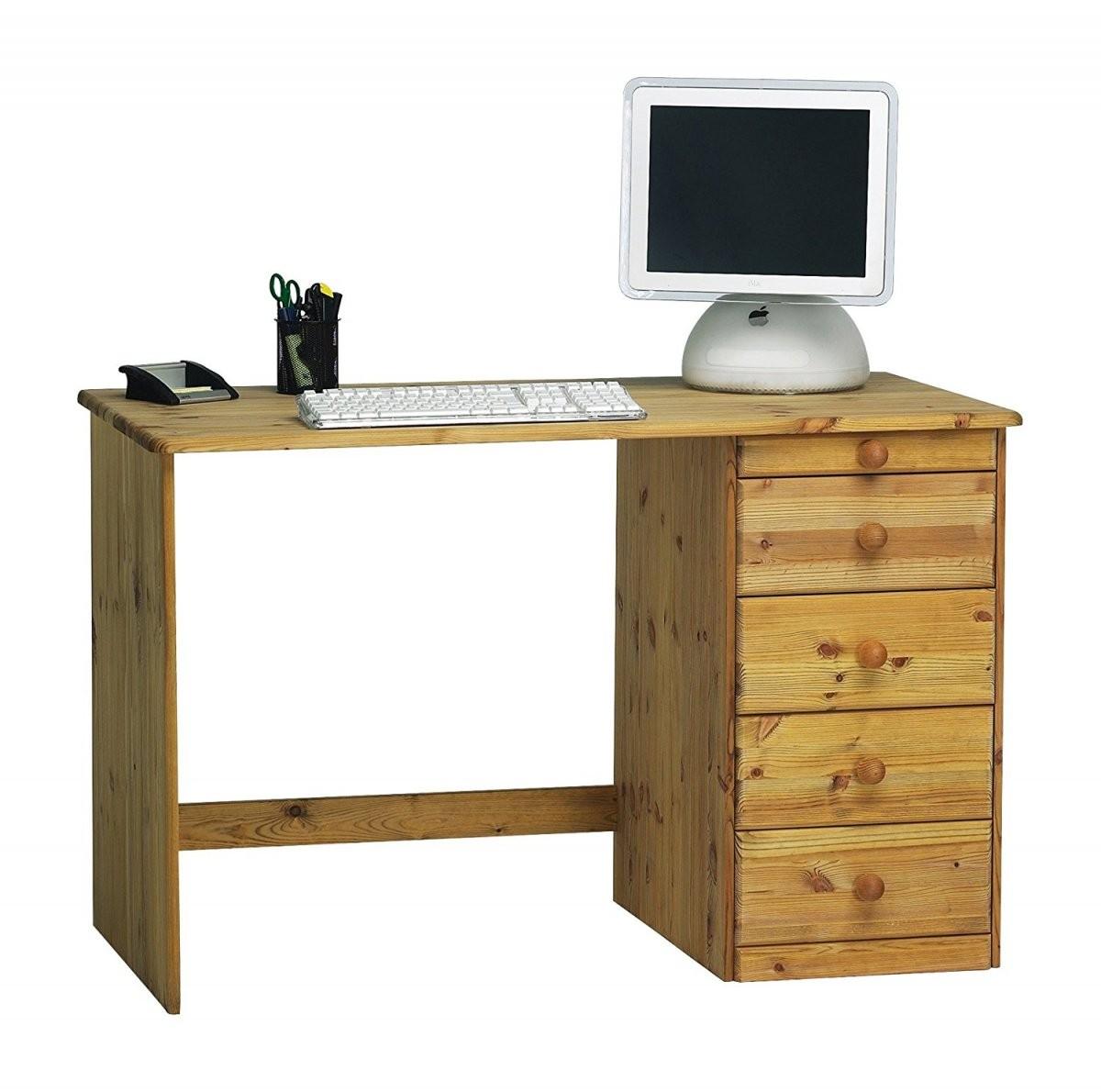 Fantastisch Schreibtisch Kiefer Gelaugt Geölt Pc Geoelt 61112 Haus von Schreibtisch Kiefer Gelaugt Geölt Bild