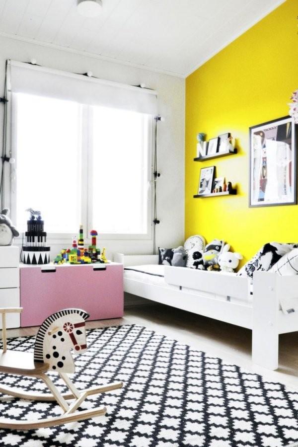 Farb Und Wandgestaltung Im Kinderzimmer  77 Tolle Ideen von Wandgestaltung Kinderzimmer Mit Farbe Photo