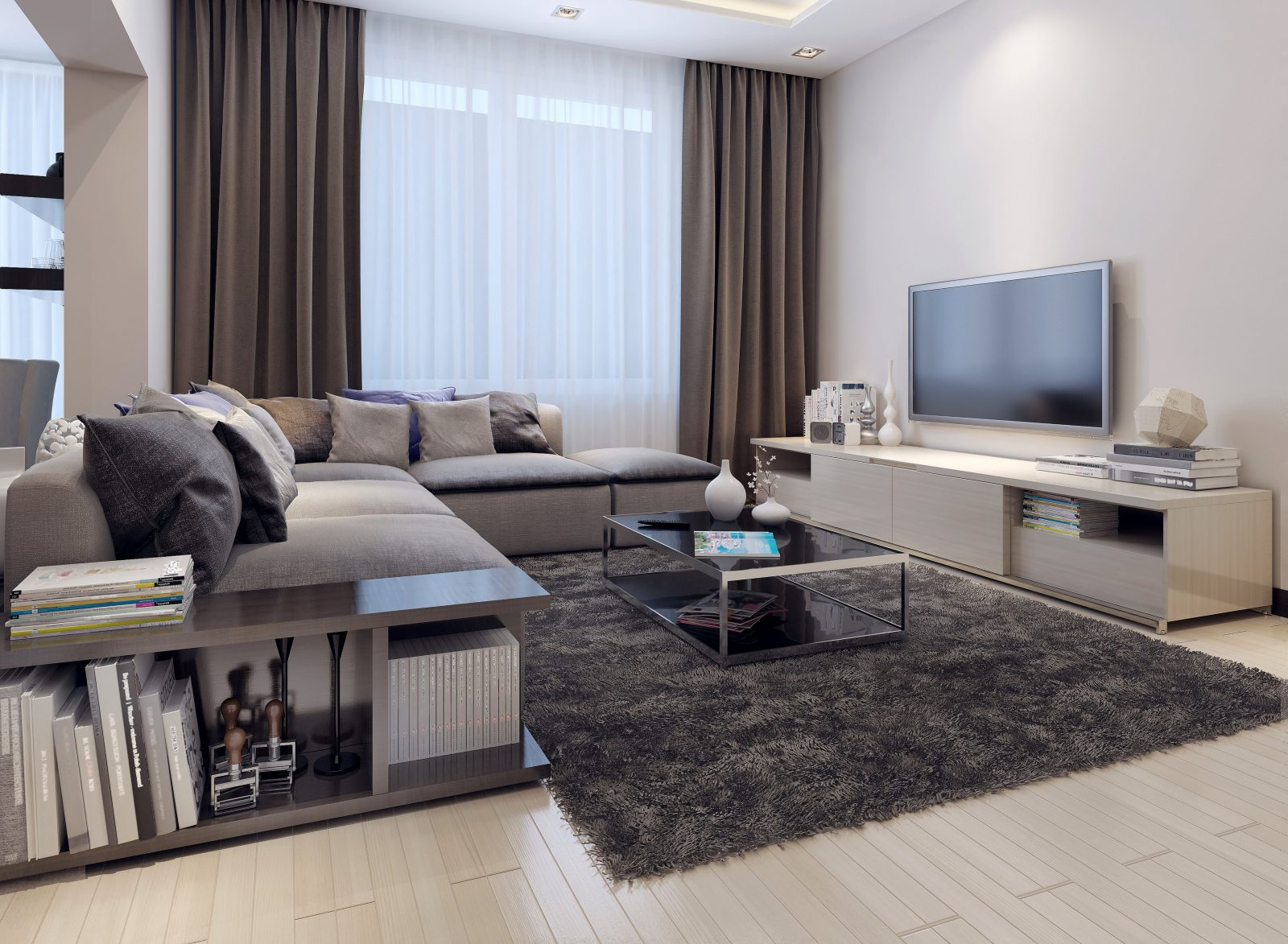 Farbe Bekennen Und Kleine Räume Groß Rausbringen 10 Farbtipps Für von Wohnzimmer Wände Farblich Gestalten Photo