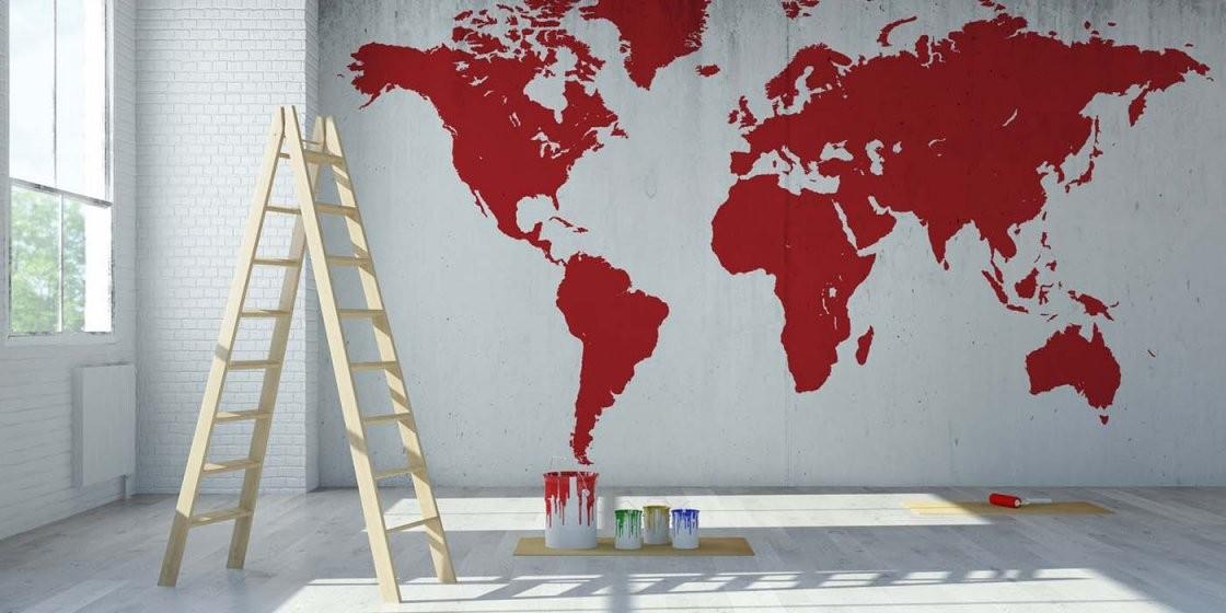 Farbegestaltungguruideentapeteteppichteppicheteppichguru von Wanddeko Ideen Mit Farbe Photo