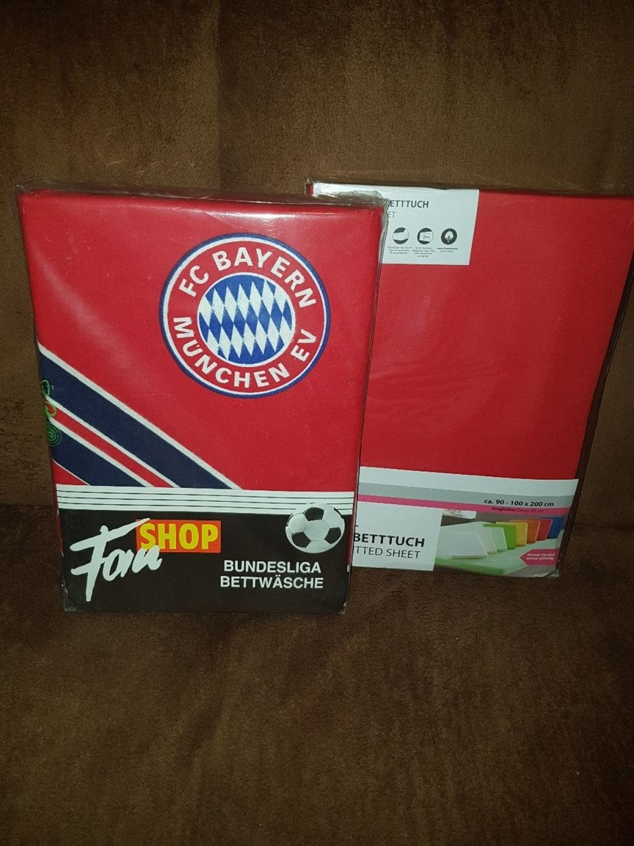 Fc Bayern Bettwasche Gebraucht Kaufen Nur 4 St Bis 75% Günstiger von Bayern München Bettwäsche Biber Photo
