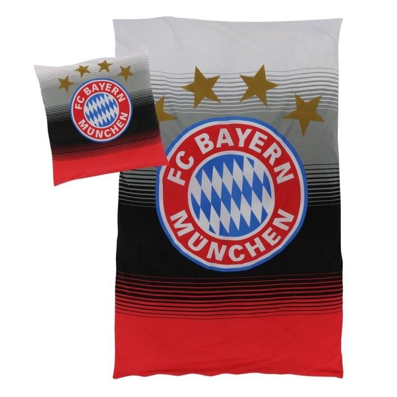 Fc Bayern München Bettwäsche Fan 135X200Cm  Real von Bettwäsche Bayern München Günstig Bild