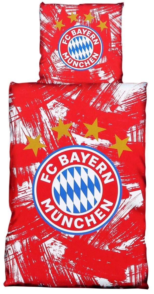 Fc Bayern München Bettwäsche Rotweiß 135X200Cm Biber von Fc Bayern Bettwäsche Biber Bild