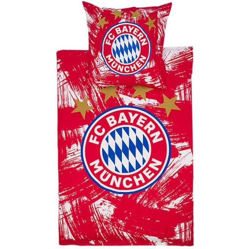 Fc Bayern München Bettwäsche Rotweiss Bettwäsche  Real von Fc Bayern Bettwäsche Biber Photo