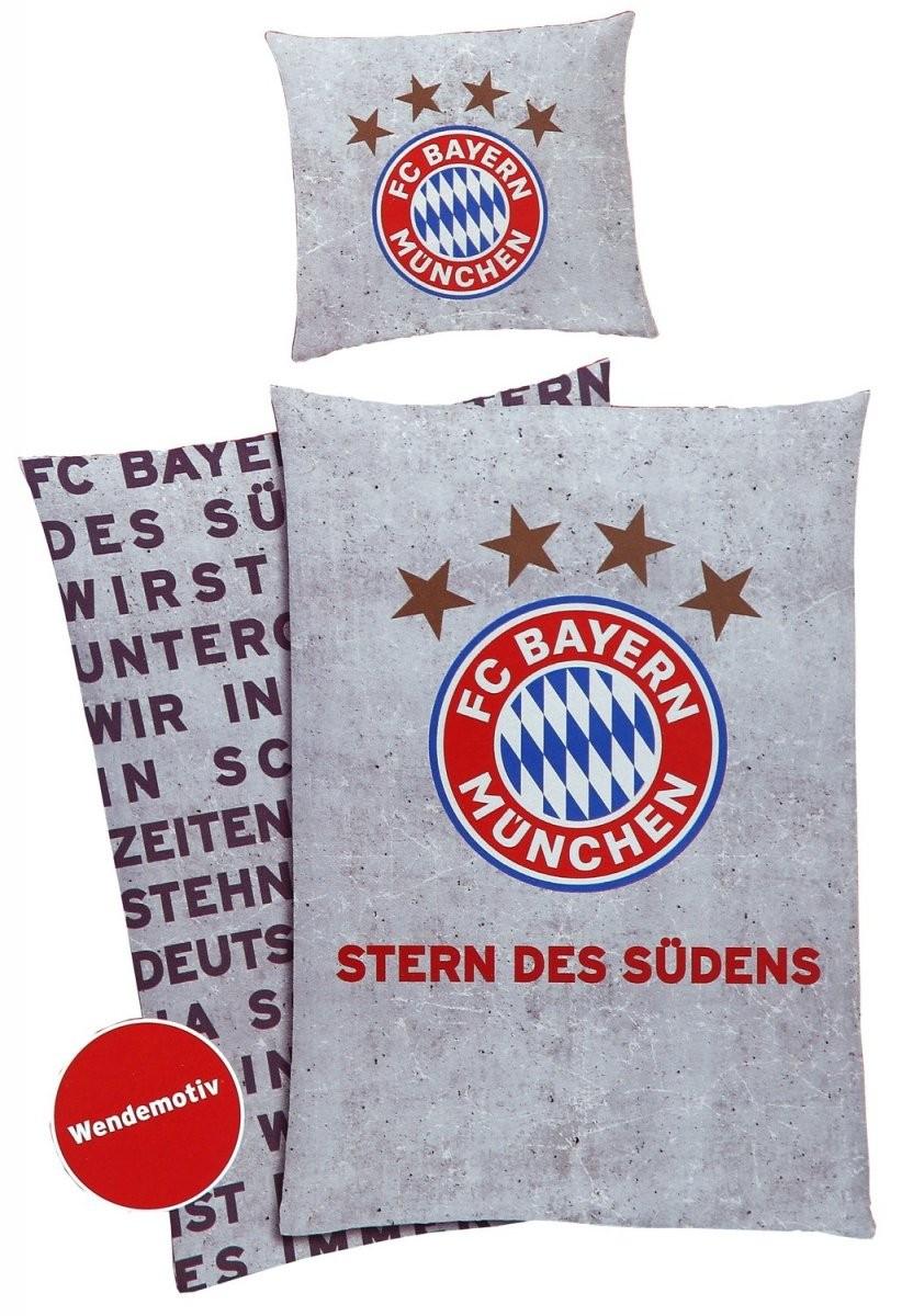 Fc Bayern München Bettwäsche Stern Des Südens von Bayern München Bettwäsche Biber Bild