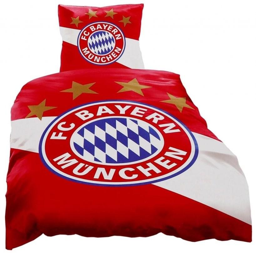 Fc Bayern München Biber Bettwäsche Rot Weiß Größe 135  Real von Fc Bayern Bettwäsche Biber Photo