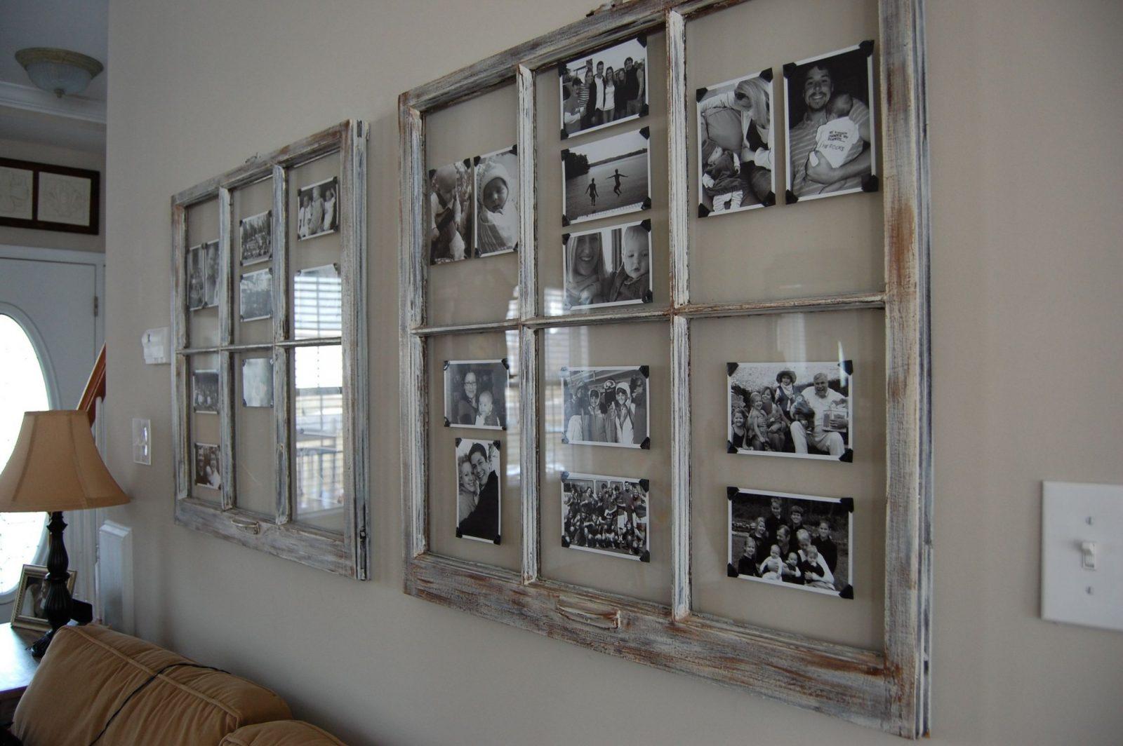 Fenster Dekorieren Ideen Tolle Zum Alte Fenster Deko Diy von Dekoration Mit Alten Fenstern Photo