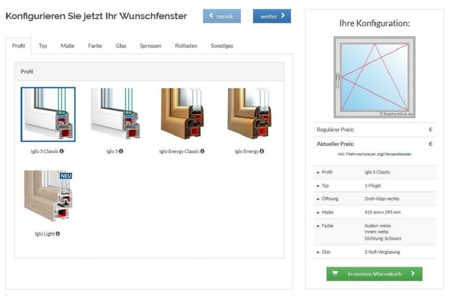Fenster Preise Online Berechnen Mit Dem Fensterkonfigurator von 3 Fach Verglasung Kosten Photo