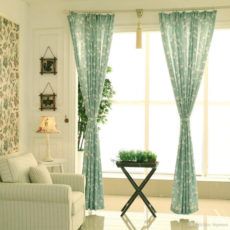 Fenster Vorhang Für Küche Wohnzimmer Schlafzimmer Floral Luxus Blumen  Fenster Behandlung Kurze Vorhänge Kleine Panel Angepasst von Vorhänge Für Kleine Fenster Bild