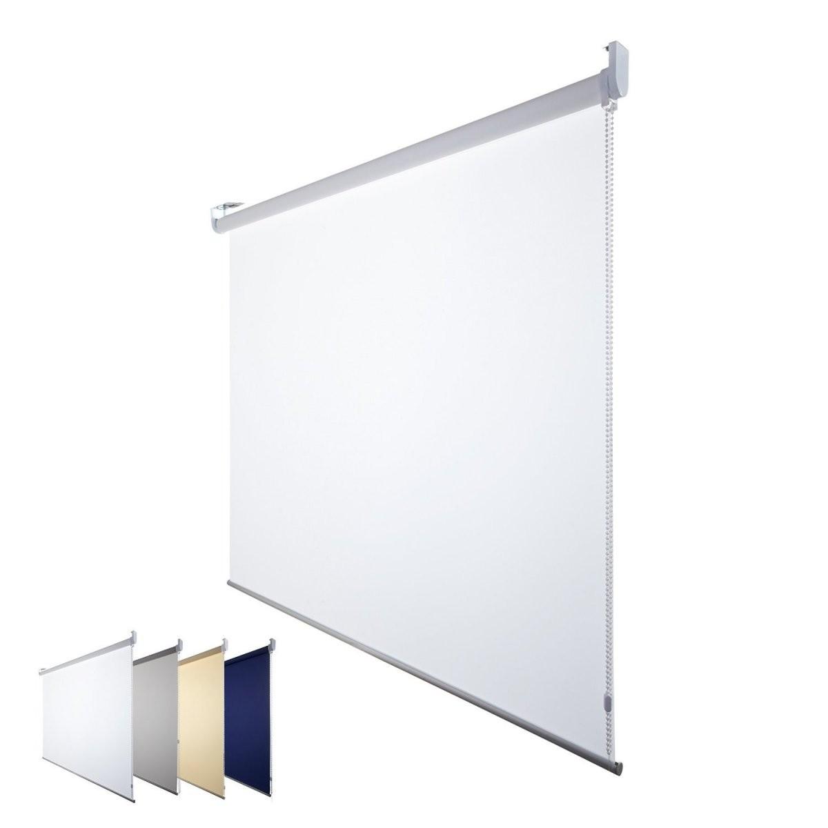 Fensterdecor Fertig Sichtschutz Rollo 140 Cm Breit 180 Cm Planen von Rollos 180 Cm Breit Bild