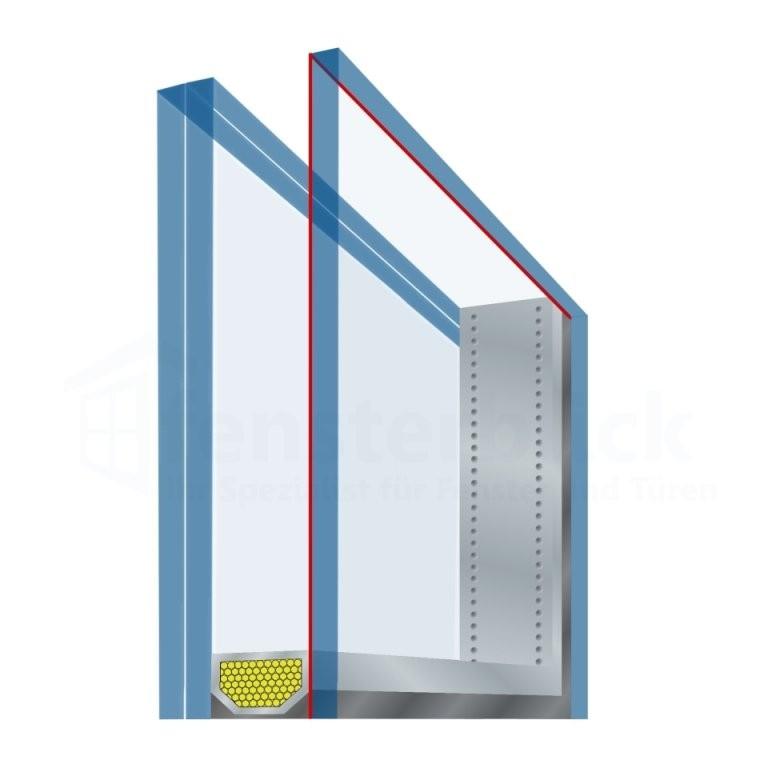 Fensterverglasung Arten Informationen + Preise  Fensterblick von 3 Fach Verglasung Kosten Bild