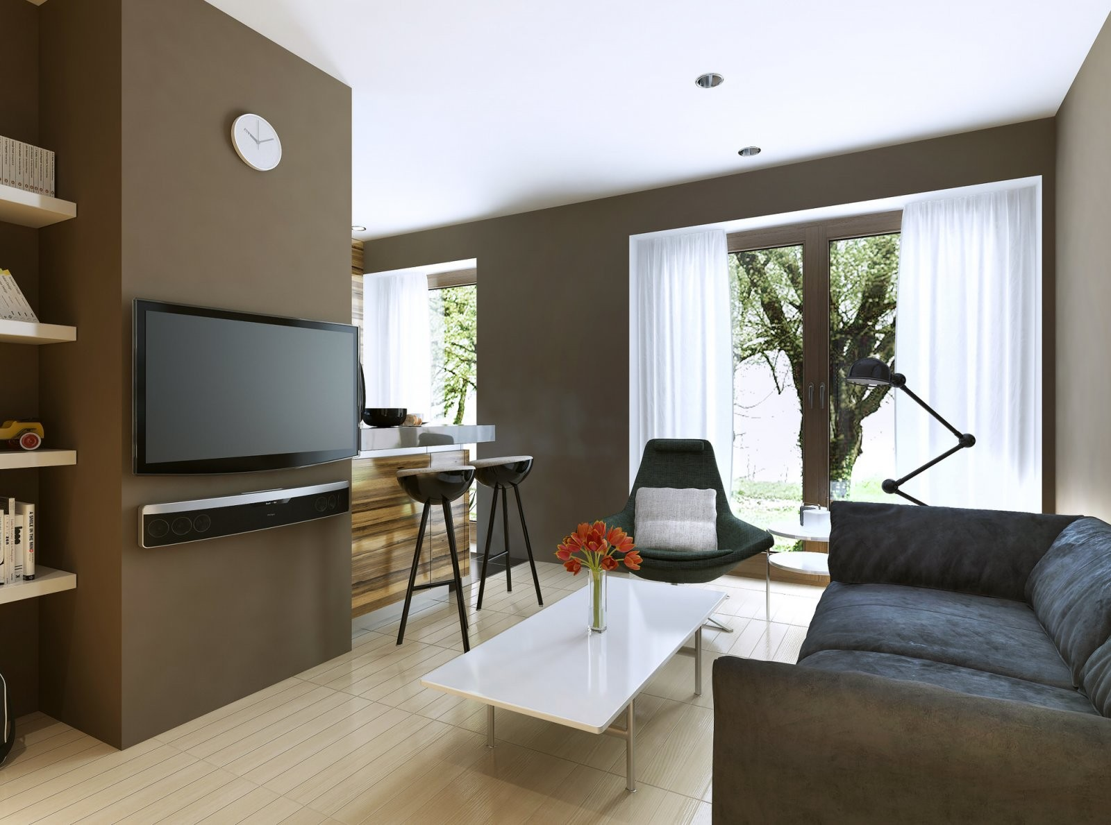 Fernseher An Die Wand Hängen – Tipps Und Tricks Für Einen Perfekten von Fernseher An Die Wand Hängen Kabel Verstecken Bild
