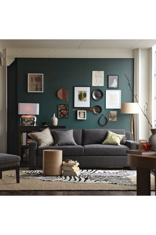 Graues Sofa Welche Wandfarbe Schön Wohnzimmer Farbe Grau ...