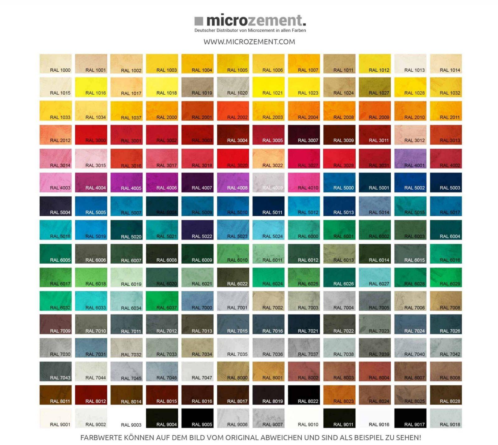 Festfloor Go Ral Microzement 15Kg Set Für 10M² Im Set von Ral Farben Selber Mischen Bild