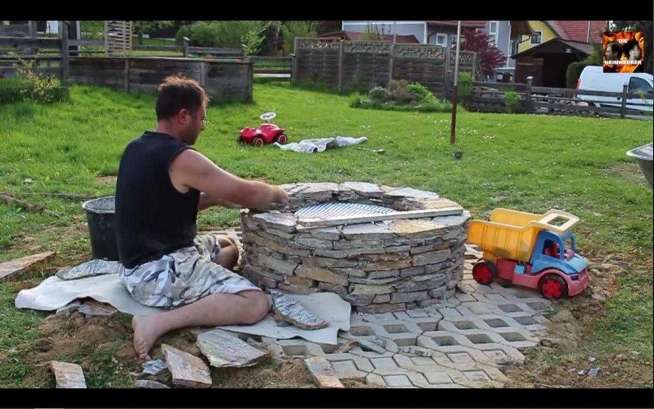 Feuerstelle Anlegen Diese 20 Ideen Sorgen Für Lagerfeuerromantik von Garten Feuerstelle Selber Bauen Bild