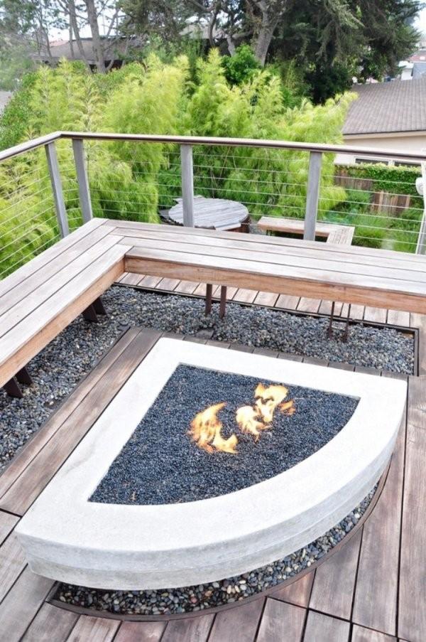 Feuerstelle Im Garten Bauen  49 Ideen Und Bilder Als Inspirationen von Feuerstelle Im Garten Bilder Photo