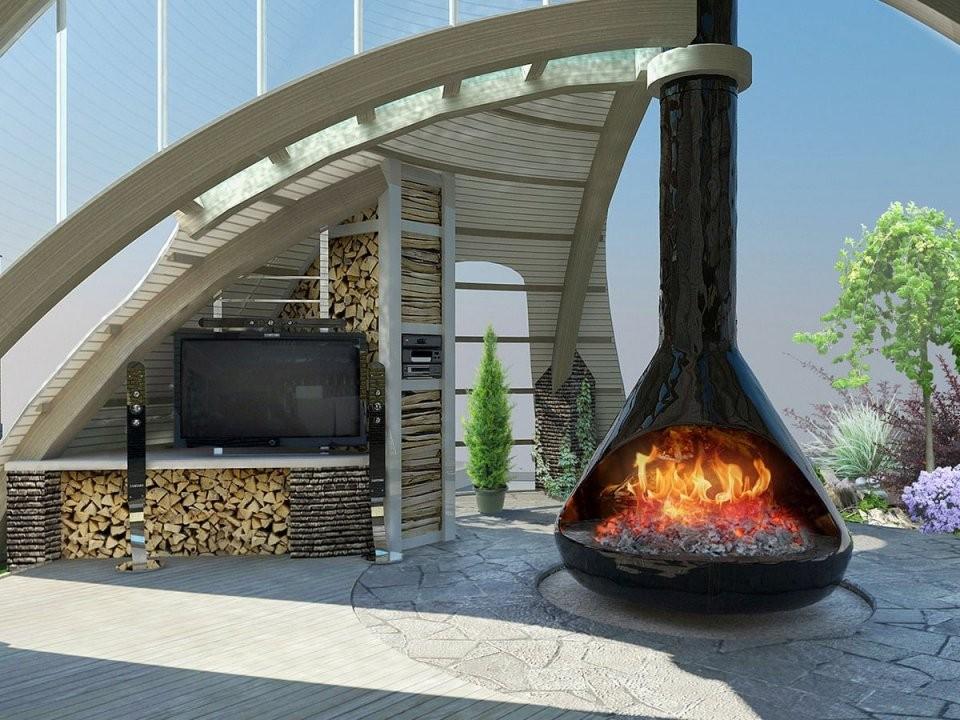 Feuerstelle Im Garten Selber Bauen  20 Moderne Ideen  Bilder von Offene Feuerstelle Garten Selber Bauen Bild
