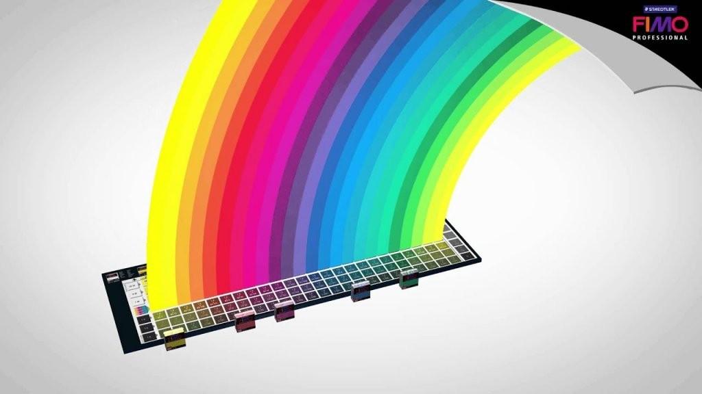 Fimo Farben Selber Mischen  Das Fimo Professional Farbmischsystem von Ral Farben Selber Mischen Bild