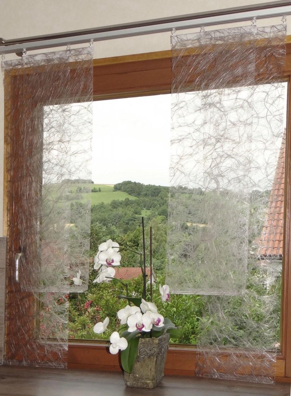 Flächenvorhang Ab 9 95 € Schiebegardine Breite 30 Cm 2 Oberteil Von von Flächenvorhang 30 Cm Breit Bild