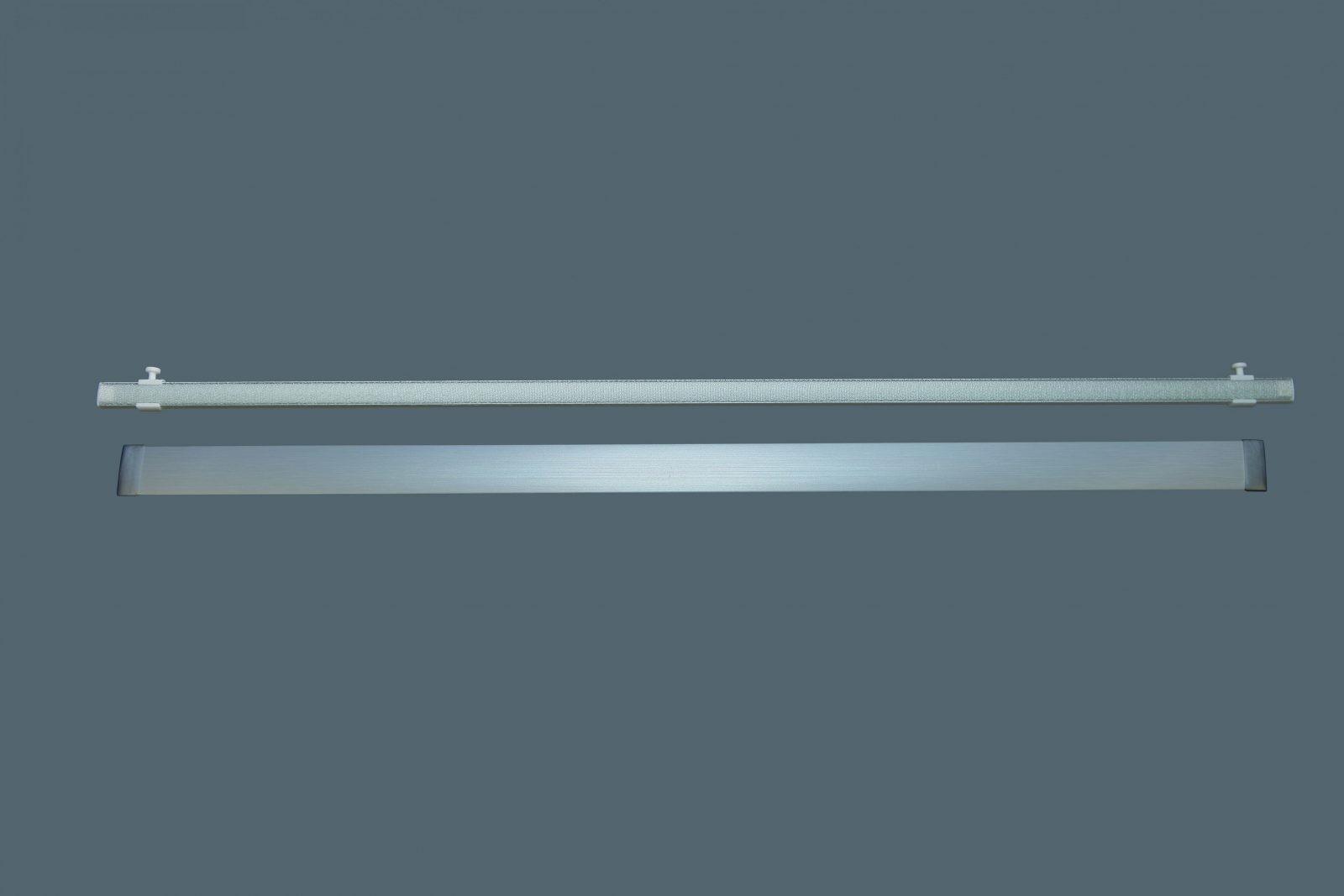 Flächenvorhangschiene Aluminium 12Läufig  Bis 6Lfm Am Stück von Gardinenschiene 1 Läufig Deckenmontage Photo