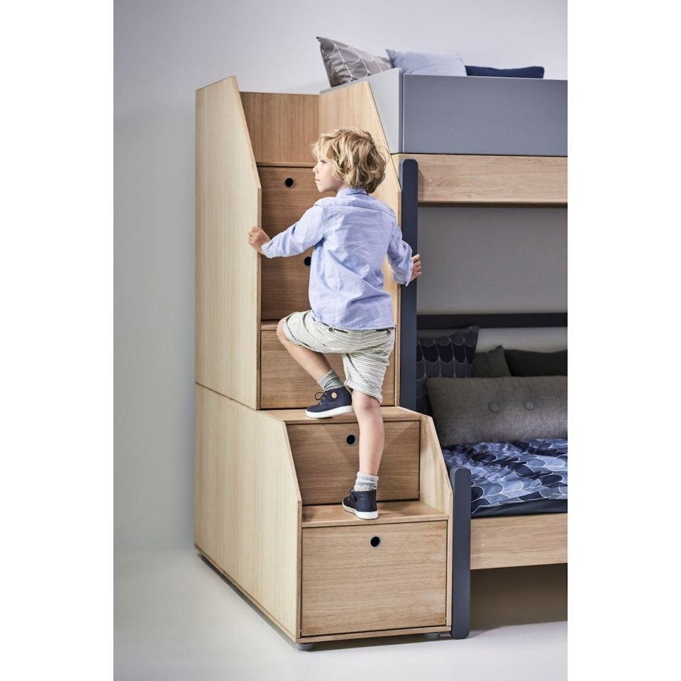Flexa Popsicle Halbhohes Bett 90X200 Cherry  901076533  1295 € von Halbhohes Kinderbett Mit Treppe Photo