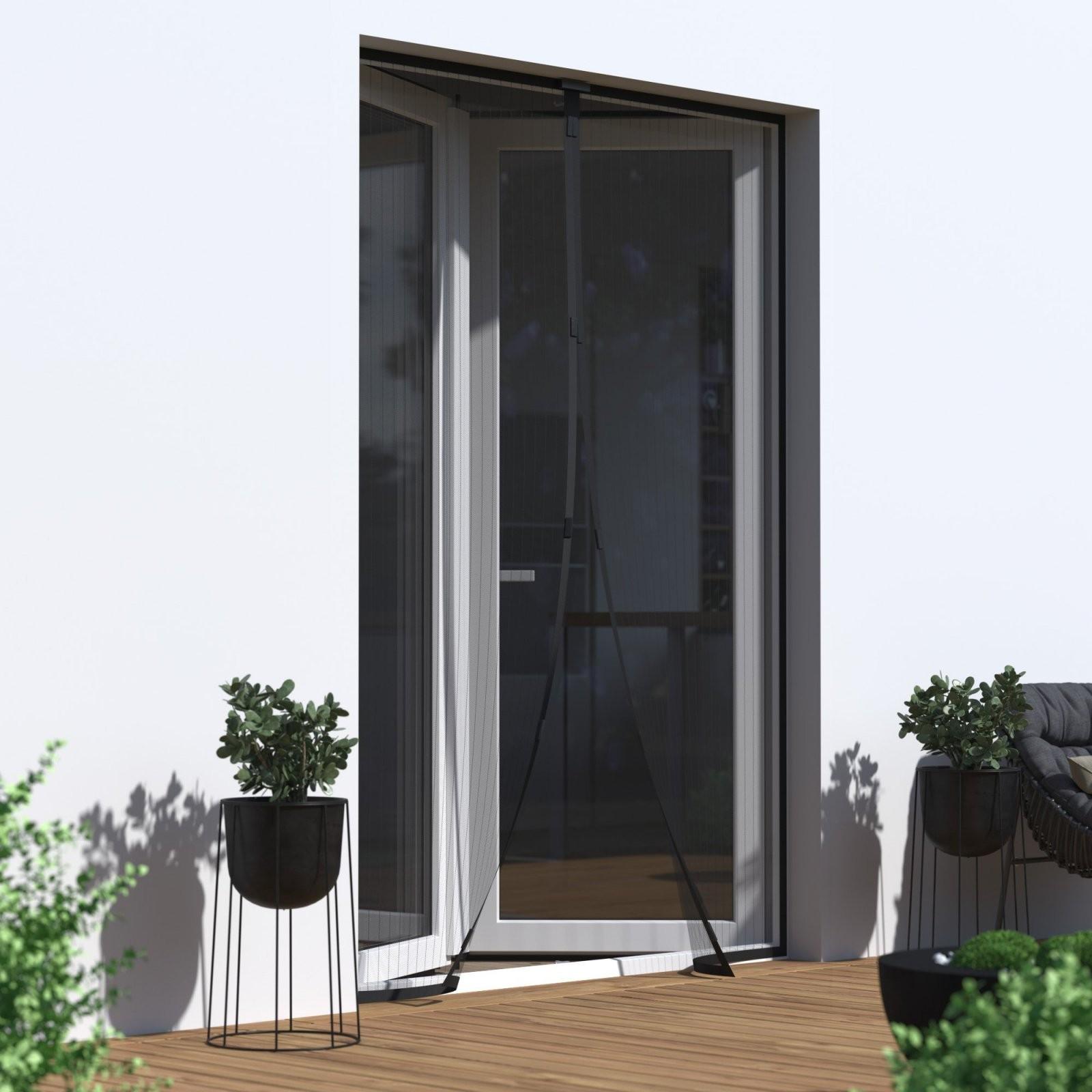 Fliegengitter Magnetvorhänge Für Türen von Insektenschutzvorhang Für Türen Mit Magnet Bild