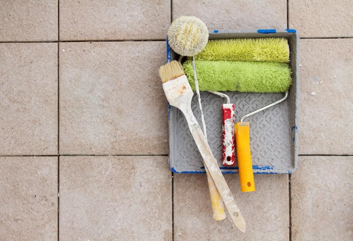 Fliesen Streichen  Der Ultimative Ratgeber  Heimhelden von Kann Man Fußboden Fliesen Streichen Bild