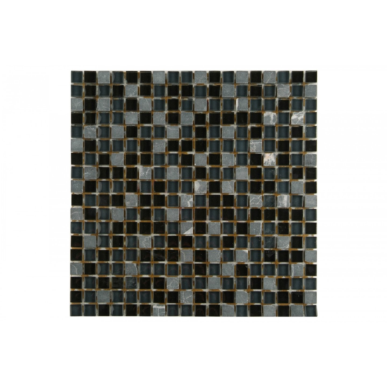 Fliesenwelt Mosaikfliesen Collexion Tabriz Mix Schwarz 30X30Cm Jetzt von Mosaik Fliesen Günstig Restposten Photo