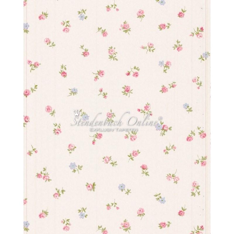 Floral Prints Landhaus Tapeten Streublümchen von Tapete Landhaus Floral Blümchen Bild