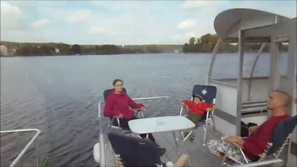 Floß Hausboot Pontonboot Mieten Kaufen Selbst Bauen Mecklenburg von Ponton Hausboot Selber Bauen Photo