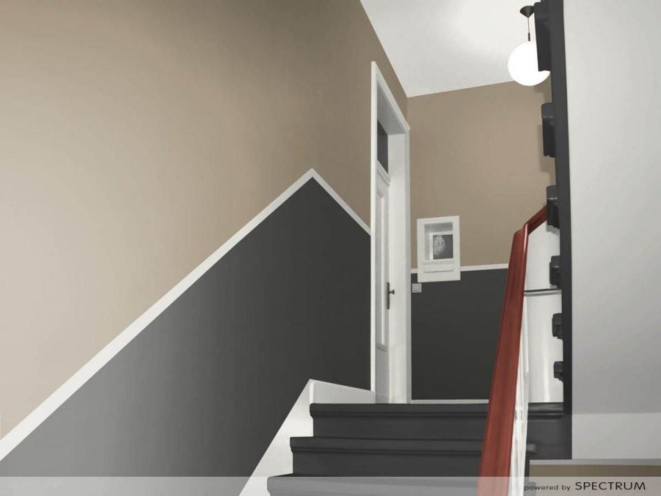Flur Streichen Welche Farbe Fesselnde On Moderne Deko Idee In von Treppe Streichen Welche Farbe Photo