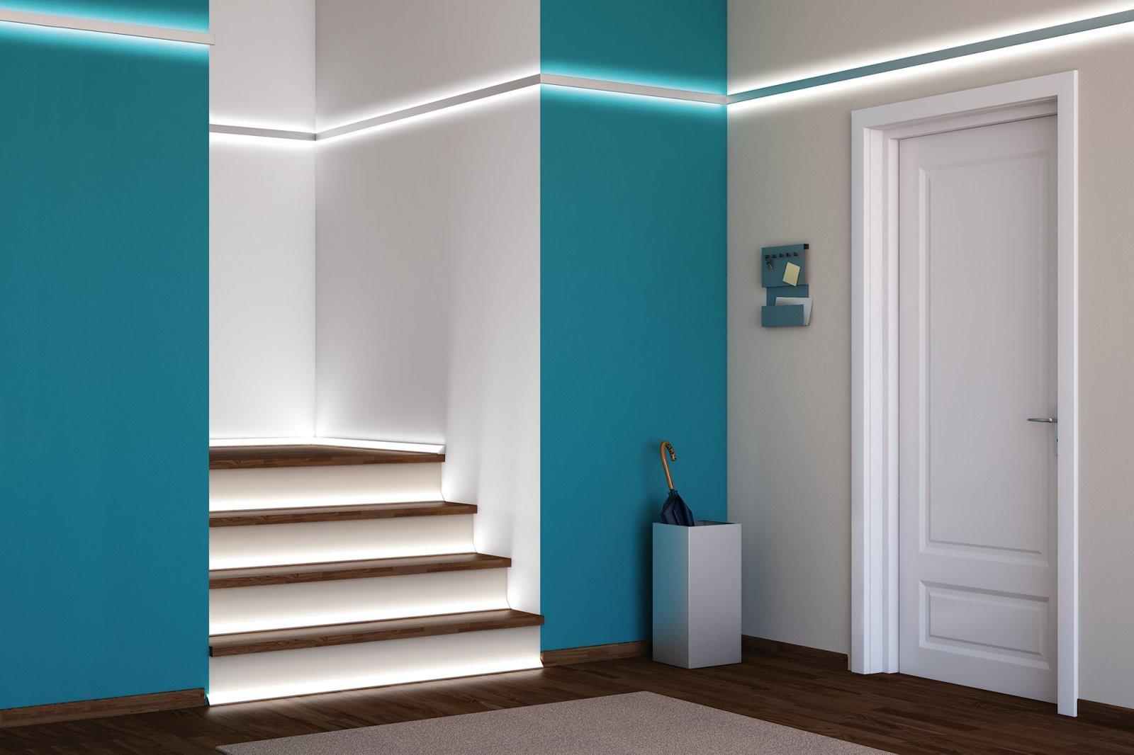 Flur Und Treppen  Die Passende Leuchte Schützt Vor Unfällen von Flur Und Treppenbeleuchtung Mit Bewegungsmelder Photo
