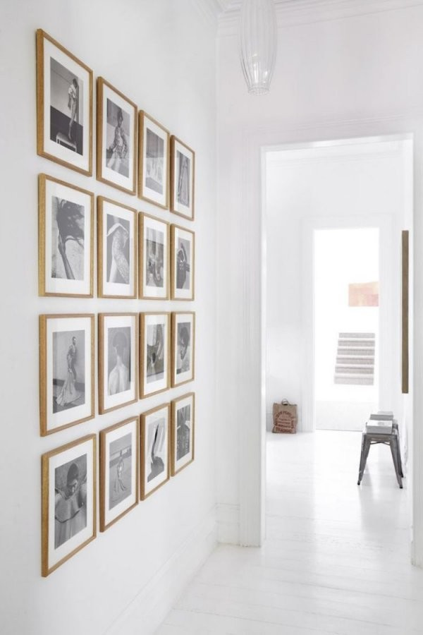 Flurdekoideenfotowandschwarzweissefotos  Büro In 2019  Flur von Deko Ideen Schwarz Weiß Bild