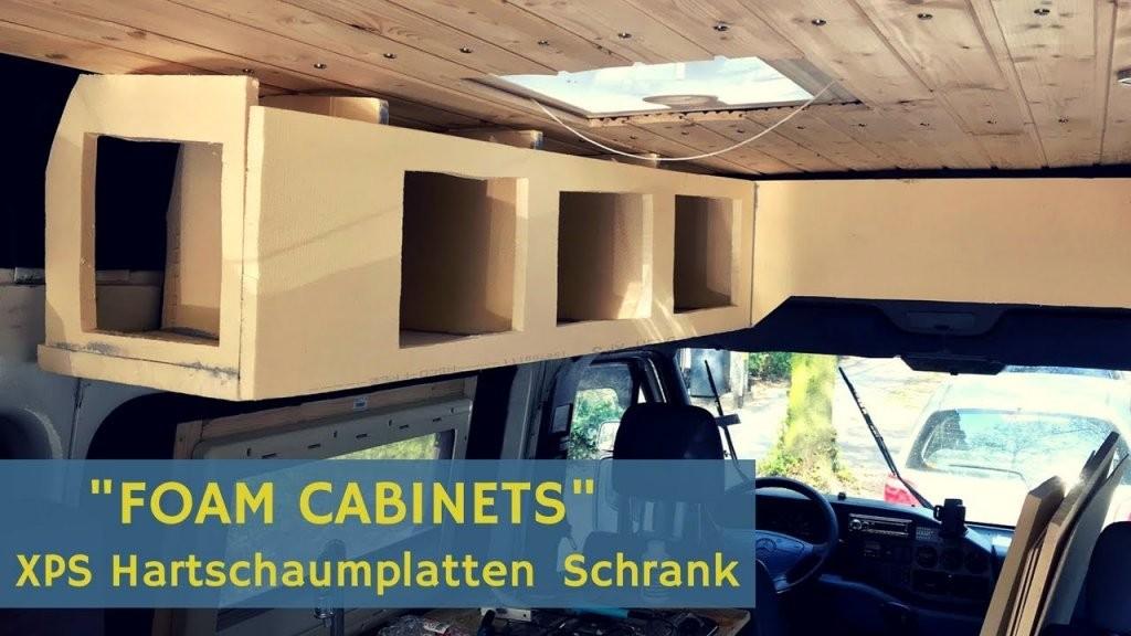 """Foam Cabinets"""" Aka Xps Hartschaumplatten Schrank Für Den Campervan von Camping Möbel Selber Bauen Bild"""